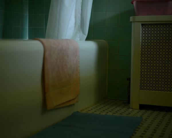 Bathroom Close-up Indoors  No People Towl Window