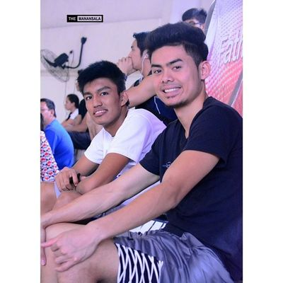 Cariño and D. Wong ??? . . . Fmc FrMartinCup AGBvsNCBA Admu ateneo agb ateneogloryB hoop basketball themanansala