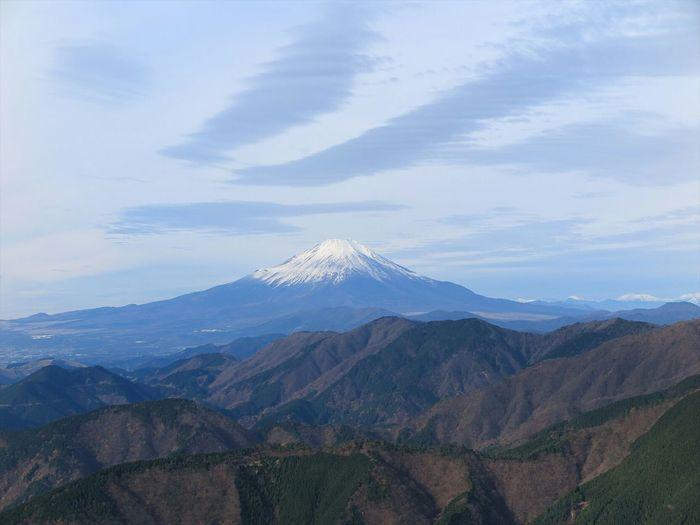 丹沢表尾根からの富士山🗻 Mt.Fuji Mountains Landscape Nature Clouds And Sky Enjoying Life Outdoor Photography EyeEm Nature Lover Streamzoofamily