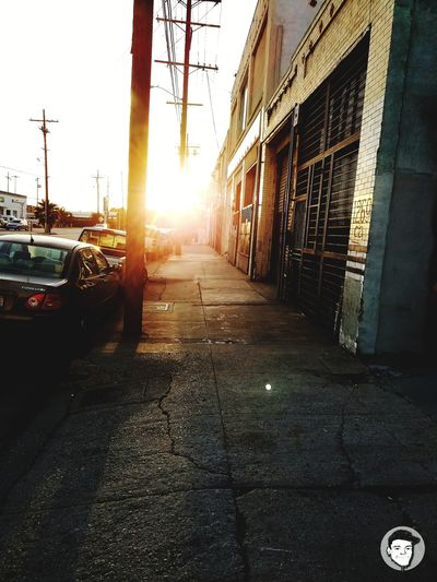 Car Street City Outdoors Architecture Built Structure Day No People Sunlight Building Exterior Sky Night Nightlife Illuminated The Street Photographer - 2017 EyeEm Awards Los Angeles, California DTLA Dtla Art District Arts Culture And Entertainment