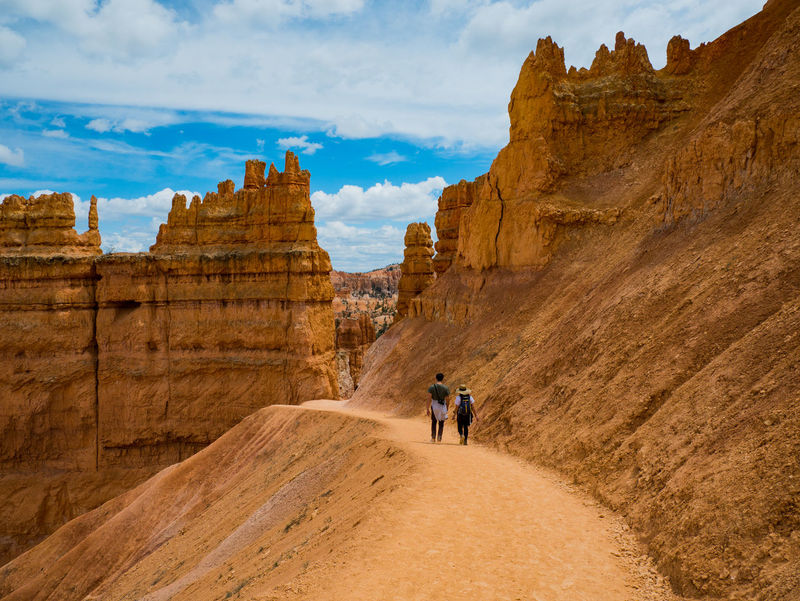 Bryce Canyon, USA. Enjoy the rest of the weekend ✌️Adventure Arid Climate Beauty In Nature Cliff Cloud - Sky Day Desert Landscape Lifestyles Men Mountain Nature One Person Outdoors People Physical Geography Real People Rock - Object Rock Formation Scenics Sky Tourism Travel Destinations The Photojournalist - 2017 EyeEm Awards Sommergefühle