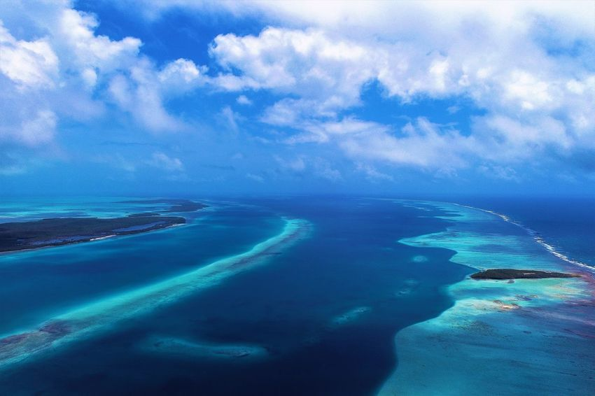 Aerial view of island and beach in Los Roques, Venezuela Cloud - Sky Sky Sea Water Scenics - Nature Beauty In Nature Nature Tranquil Scene Blue Tranquility Day Horizon Horizon Over Water No People Land Aerial View Beach Outdoors Environment Los Roques Madrisqui Caribe Caribbean Caribbean Life Caribbean Island Francisqui Crasqui Carenero's Beach Cayo De Agua Venezuela