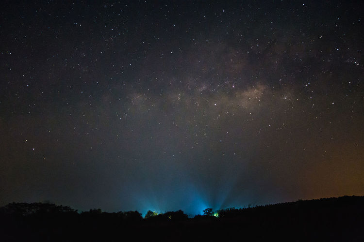 Milkyway Sky Star constellation Astronomy Beauty In Nature Galaxy Nature Night No People Outdoors Scenics Silhouette Sky Star - Space Starry Tranquil Scene Tranquility