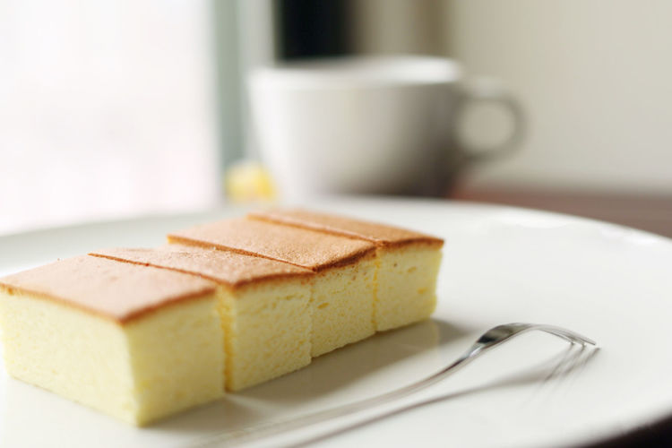 Sponge Cake, Selective focus Bakery Cake Dessert Focus On Foreground Food And Drink No People Ready-to-eat Soft Sponge Cake