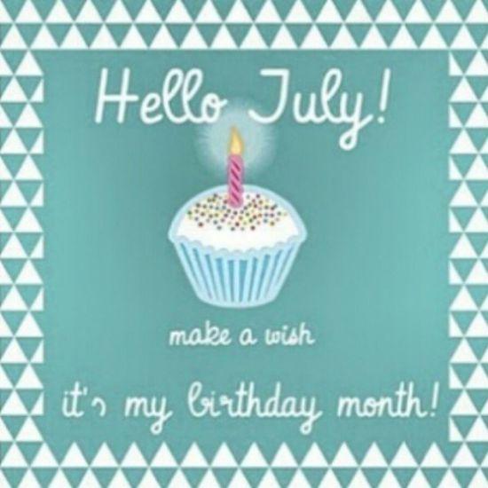 July Birthdaymonth ♡