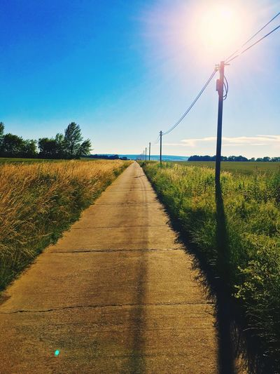 Countryside Way Rural Relaxing Time First Eyeem Photo