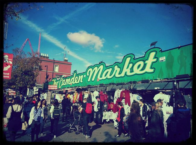 Camden Town Camden Market, London