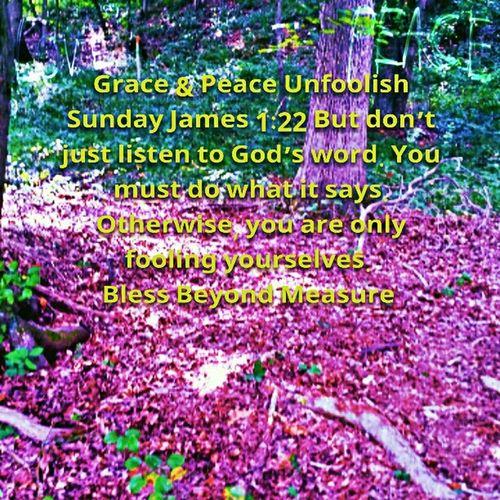 Grace & Peace Unfoolish Sunday