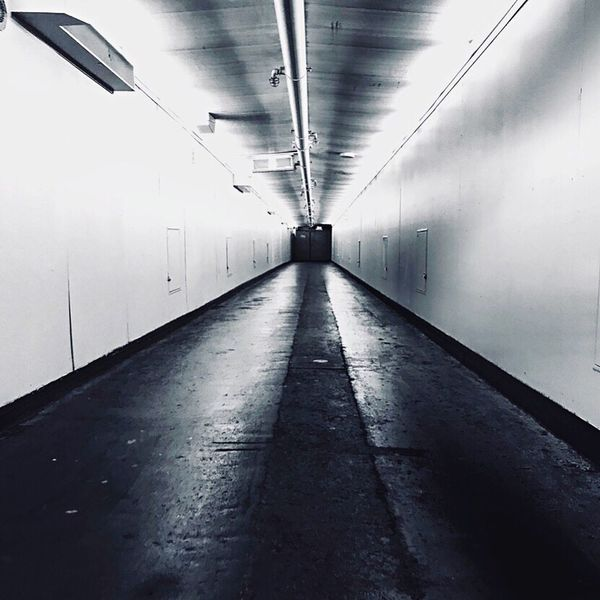 Sometimes, you find yourself in the middle of nowhere, and sometimes, in the middle of nowhere, you find yourself. Lightattheendofthetunnel Tunnels Nowhere The Way Forward Indoors  Ceiling Empty Architecture No People