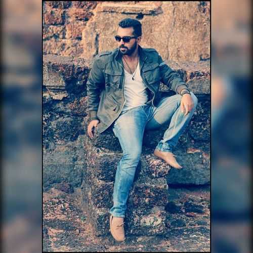 Me Goingbwb Bornstylish Brownboy Model Shades Shoes Loafers Swagg Sexiness Men Indianbeard Style Instabeard Photooftheday Jacket Jeans Cool Swagger  Stylish Fresh Hair fashion manahdgoamyfashiondairies