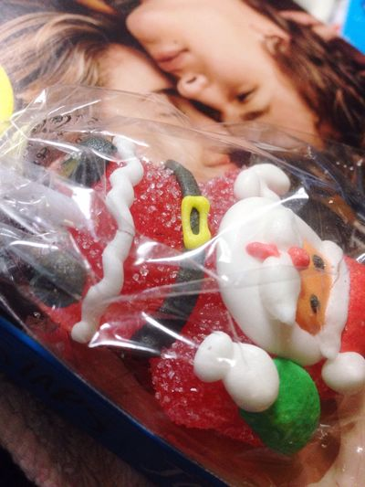 Taking picture after reading a sad story😂😂 Christmastime happy christmas everyone! Candy Christmascandy Santa