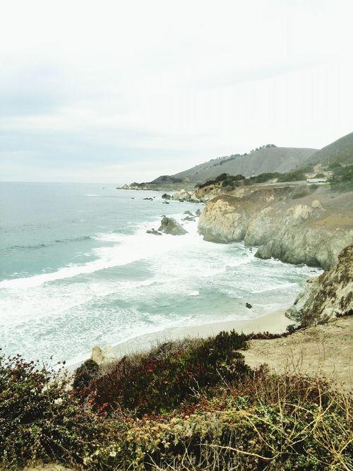 Breathtaking landscapes. Bigsur California Ontheroad