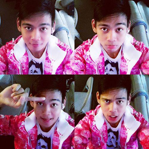 Pink Selfie Faces Of EyeEm Collage