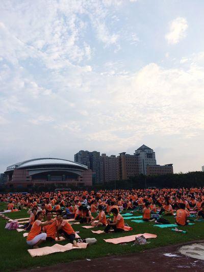 International Yoga Day Yogathon 108 Times Sun Salutation Yoga ॐ