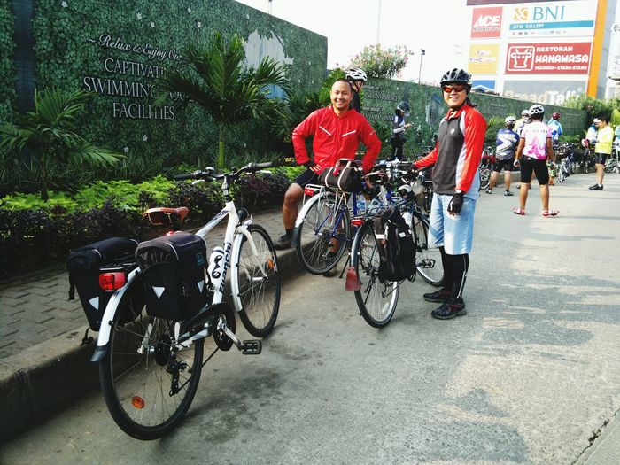 heading to bogor... Bicycle Trip Bicycle Adventures Cycling Enjoying Life