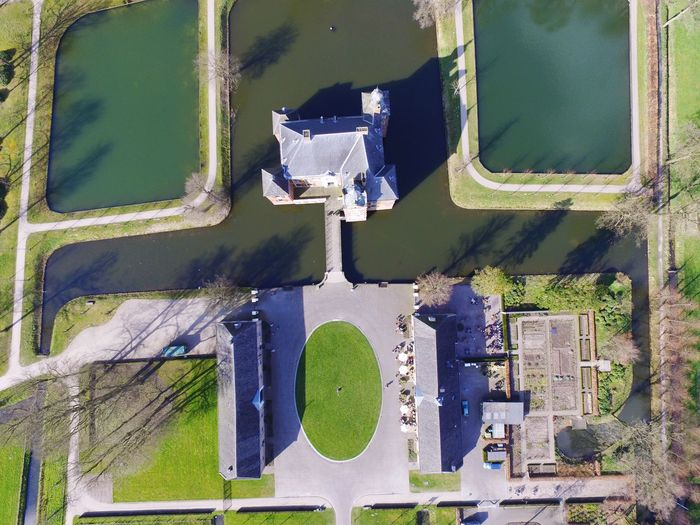 Castle from the sky Dronephotography Drone  Castle Day Outdoors Full Frame No People Close-up