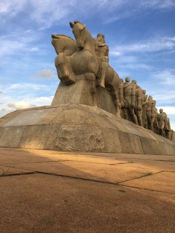 Monumento Das Bandeiras Sao Paulo - Brazil Historia