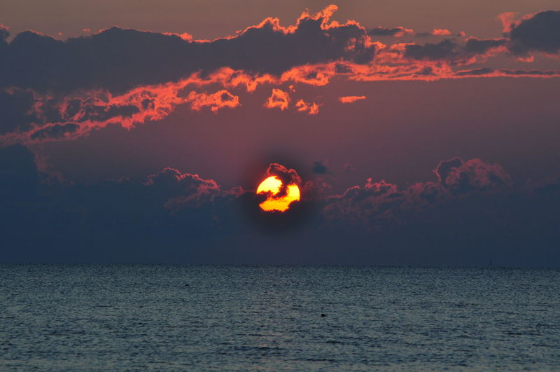 Amazing View Beach Beauty In Nature Nature Night OBX Outdoors Outer Banks, NC Scenics Sea Sky Sunset