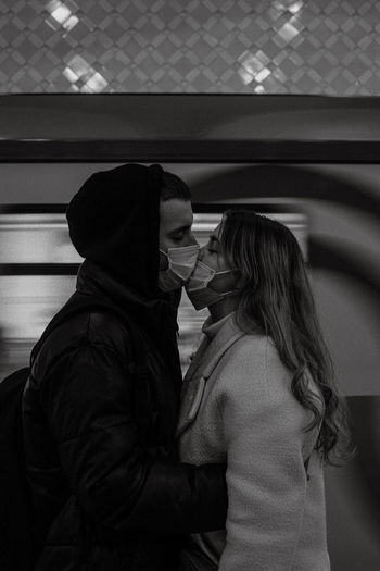Love in subway