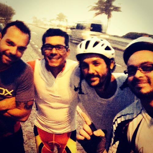 """Treino pesado! """"Punido"""" pra ciclovia! :( Foxteam Bike Morning Riodejaneiro Quartafeira 1"""