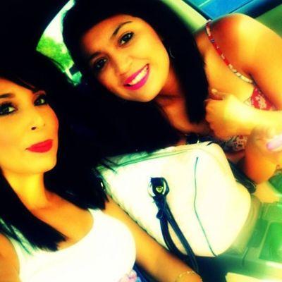 With the friend :) Bffs