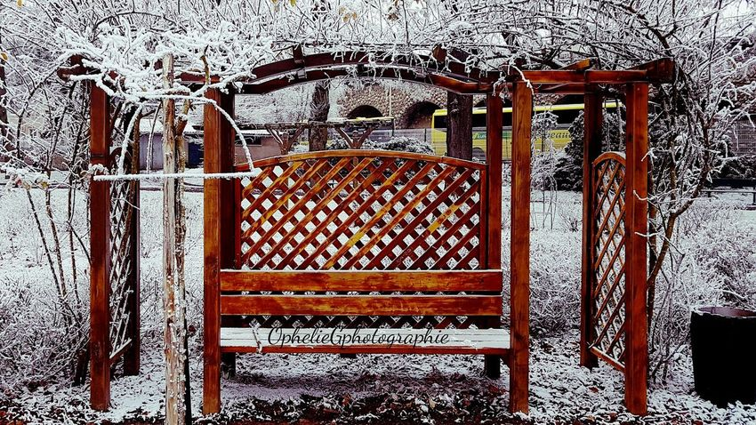 No People Outdoors Snow Nature Beautiful Hiver Photography My Shot  Beauty In Nature The Week On Eyem Authentic Moments Park Parc André Gagnon Tranquility Promenade Magnifique Chartres, France