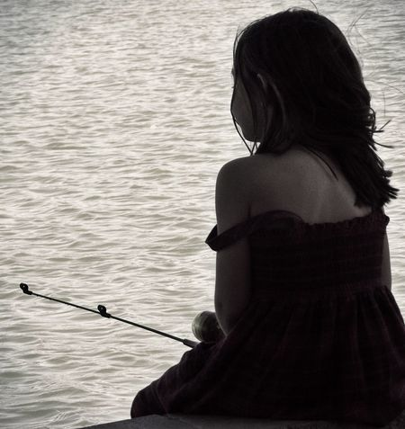 """Sweetly patient. Tranquil Life Is Beautiful Girl Nevada Fishing Girl Fishing Child Waiting Patience Tranquil Day Great Afternoon Best Day Niece  Check It Out """" most beautiful girl in the world but only when she smiles"""" miss you, more than you know. Girl Power Original Experiences"""