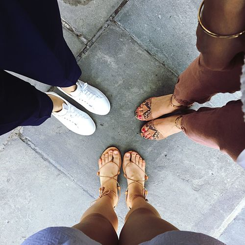 Happyfeet White Sneakers Sandals Leopard Print LaceUp Girlstime