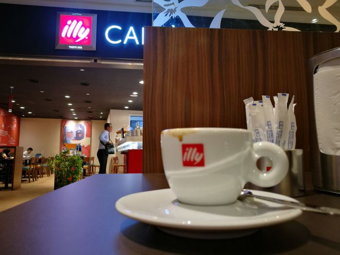 Illy Caffe KLCC Indoors  Table Food And Drink No People Cafe Luxury Food