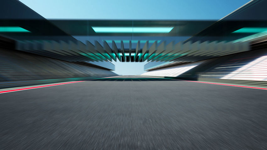 Architecture Asphalt Blurred Motion Built Structure Ceiling City Diminishing Perspective Direction Empty Illuminated Indoors  Light Long Exposure Motion No People Road Sign Speed Symbol The Way Forward Transportation Tunnel