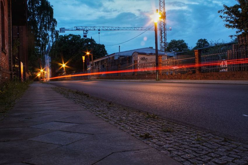 Light Trail Street Night Illuminated Long Exposure City No People Road Street Light Cityscape Outdoors Sky Golf Club City Snapseed Cityscape History Travel Berlin Built Structure Reflection Backgrounds Berlin, Germay A6000 Black Background
