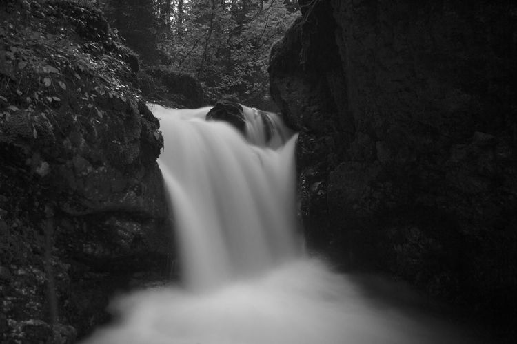 Waterfall Beauty In Nature Blackandwhite Boulb Day EyeEm Best Shots Flowing Water Forest Long Exposure Motion Nature Nature Nikon Nikon D3100 Non Urban Scene Non-urban Scene Outdoors Photo Photography Photooftheday Power In Nature Purity Time Shot Tranquility Water Waterfall First Eyeem Photo