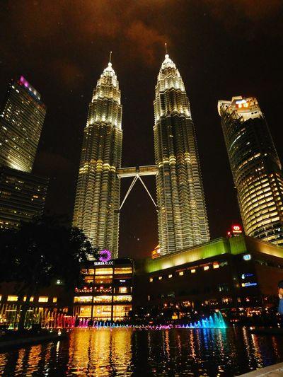 Kuala Lumpur Twin Towers Pitronas Night