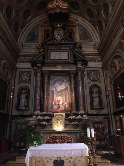 Torino No Filter Chiesa Di San Carlo  Piazza San Carlo Torino Piemonte Italy Religion Spirituality Built Structure Belief Architecture Place Of Worship Altar Building Indoors  Candle Art And Craft Illuminated Sculpture Travel Destinations Ornate Ceiling