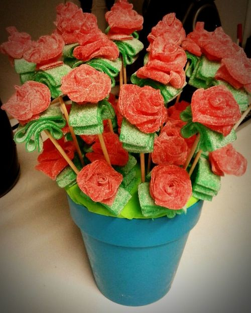 Flowers Chuches Happy Happy Birthay! Food Kidsfood
