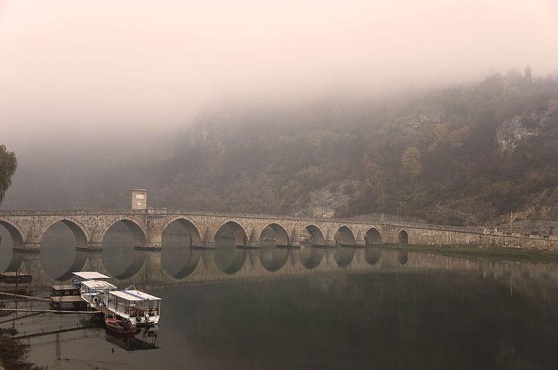 The old bridge in visegrad