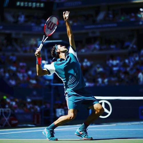 Rogerfederer RF Myfav Legend Duringusopen Thatacethough