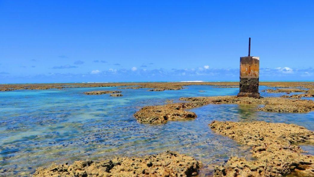Beach Sea Sky Landscape Beauty In Nature Coral Beach Horizon Over Water Brazil ❤ Maceió, AL Maceió Maceiobeach Maceió - Alagoas -Brasil The Creative - 2018 EyeEm Awards The Great Outdoors - 2018 EyeEm Awards