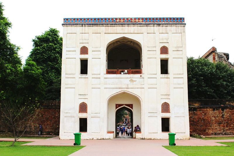 Tourist Attraction  Historical Place Built Structure Architecture Travel Destinations HumayunTomb Delhi Travel Photography Monuments Of The World Be. Ready.
