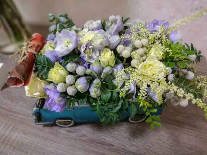 Bouquet on the