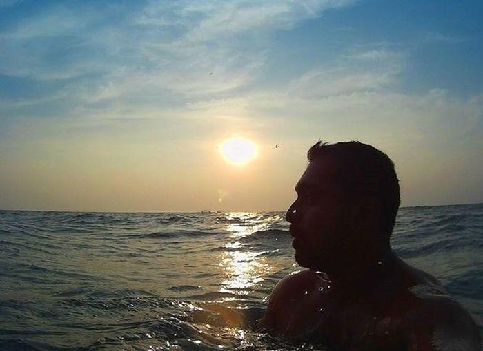 Life is always better at the beach 1stpost 2016 Newyearpost Beachstart Beachboy Sunset Evening Fun Beautiful Sky Goanboy Chilling Sj4k Likeforlike Followforfollow Ahd Goa India