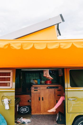 Live For The Story Childhood Memories Childhood Camping Summer Legs Van Campervan Nostalgia Retro Styled Retro Car Volkswagen The Week On EyeEm Editor's Picks