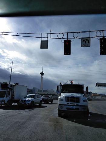 Car Transportation Cloud - Sky Sky No People Outdoors Day
