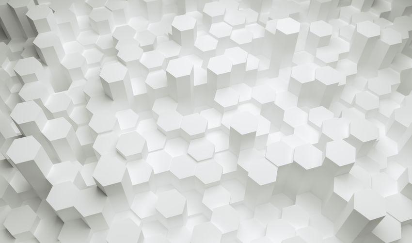 white hexagons background pattern White Color White Wallpaper Virtual Reality Trendy Technology Surface Square Simple Shape Row Repetition Realistic Play Pattern Party Octagon No People Network Neon Mosaic Modern Minimal Light Lens Flare Large Group Of Objects Indoors  Illuminated Honeycomb Hive Hi-tech High Angle View Hexagonal Hexagon Glowing Glow Geometric Shape Geometric Gaming Gamer Futuristic Future Full Frame Fluorescent Event Entertainment Electric Effect Disco Digital Design Cyber Copy Space Concept Computing Computer Close-up Business Backgrounds Background Artificial Intelligence Art Abundance Abstract