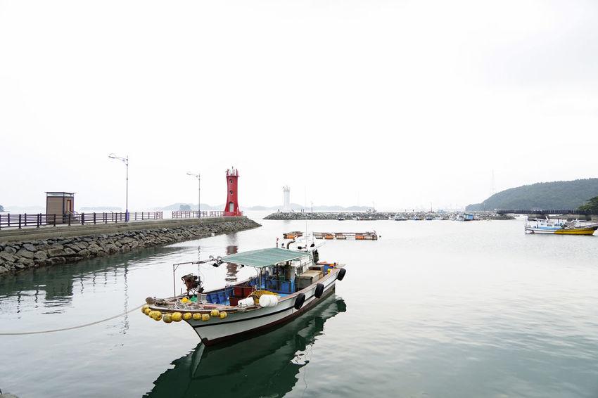 Views] Sea Korea Landscape Vacation Sony Boats⛵️
