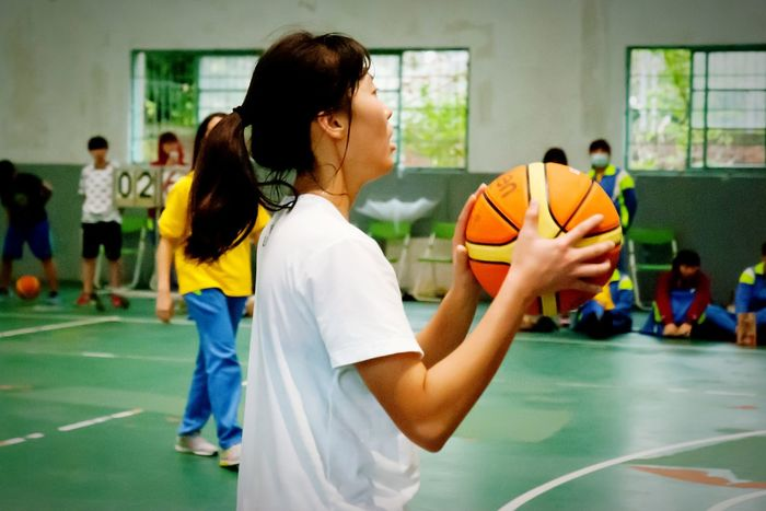 Athlete People Photography Excercise Excercise Time Young School Life  Sports Photography Sport Eyeemsports Basketballplayer Basketball Game Basketball Girl