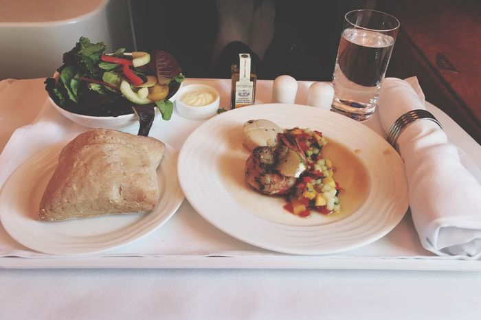 EyeEm Selects Food And Drink Ready-to-eat Emirates Airline Business Class Bread Neat Freshness Close-up Travel