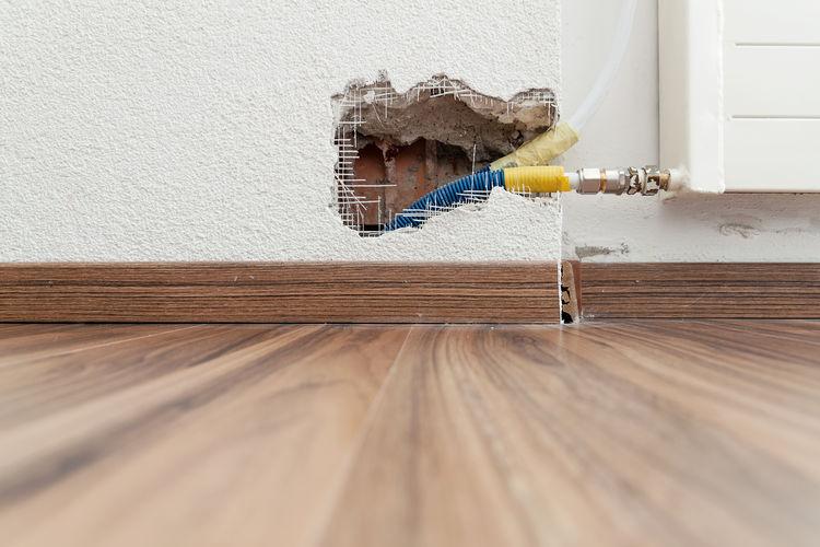 Close-up of wood at home