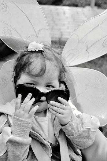 Baby Girl Cute Fun Outdoors Adorable Happy Child Children Only Childhood One Person Happiness Babygirl Baby Girl Black And White Portrait Baby Children Photography Children_collection Children Babyhood