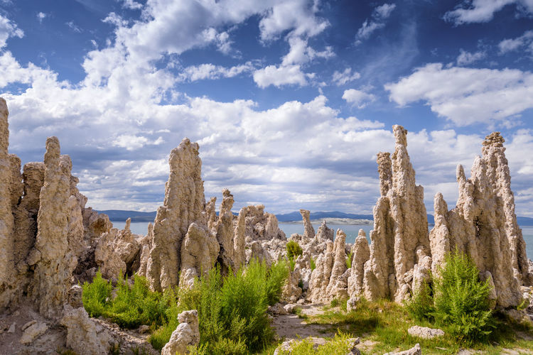 Beauty In Nature Cloud - Sky Day Geology Landscape Mono Lake Nature Nature Nature Photography Nature_collection Nature_perfection Naturephotography No People Outdoors Physical Geography Rock - Object Rock Formation Scenics Sky Tranquil Scene Tranquility Art Is Everywhere